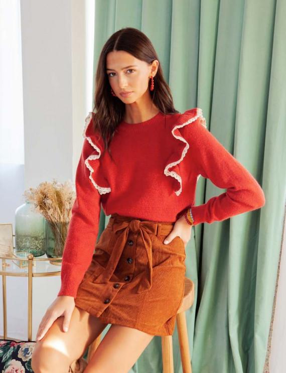 Terracotta Vany sweater