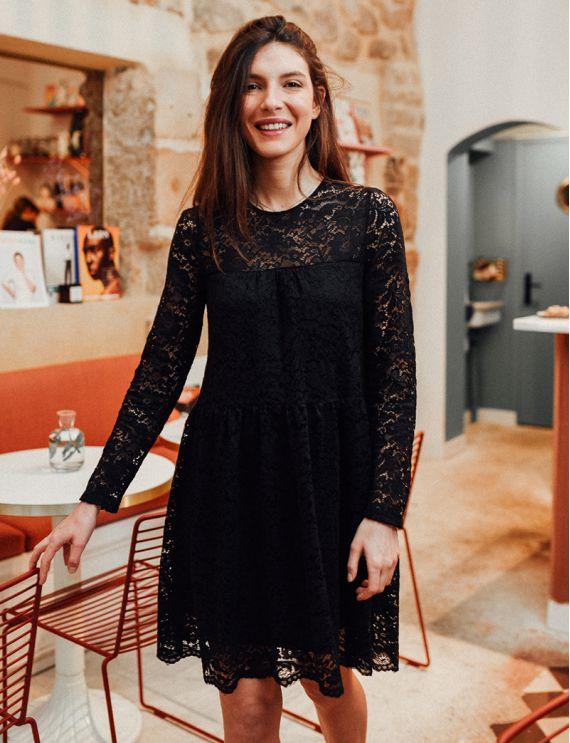 Perle black dress
