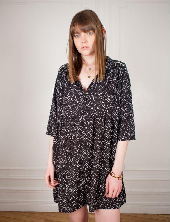 Robe noire Gaspard
