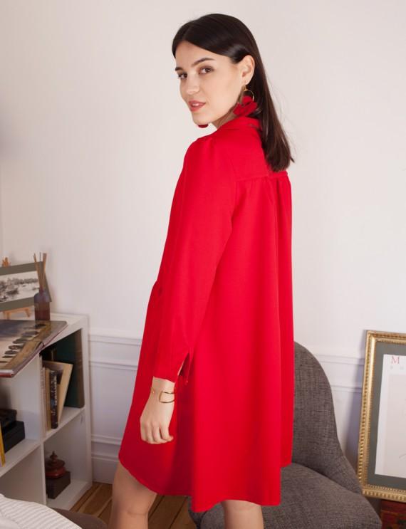 Robe rouge Victoire