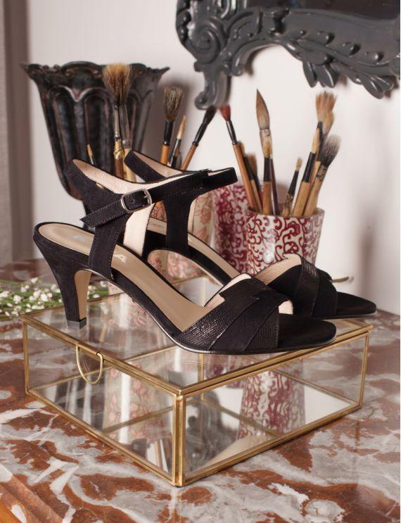 Sandales Zeste noir