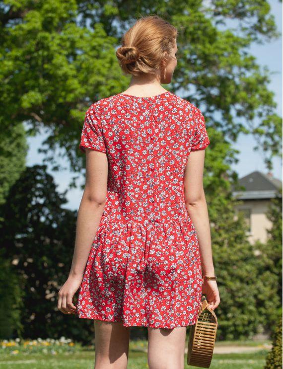 Robe rouge Angeline