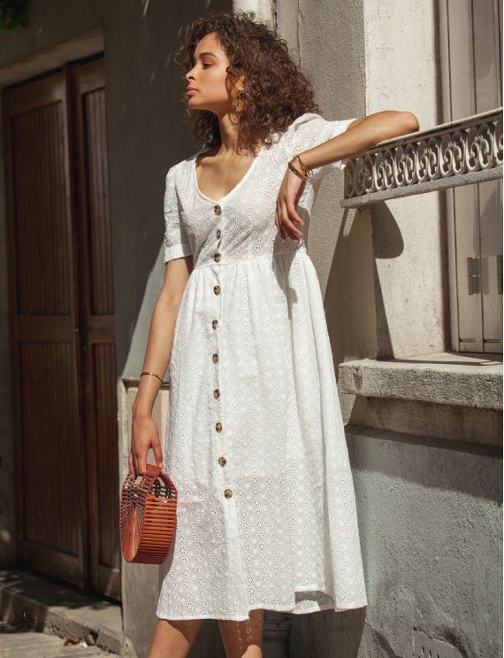 Robe blanche Serra