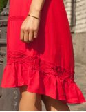 Robe rouge Nema