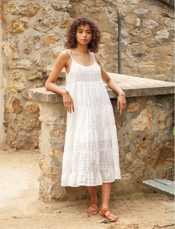 Robe blanche Alissa