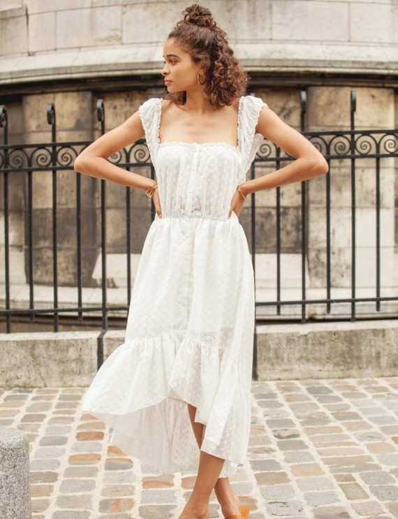 Robe blanche Nicoletta