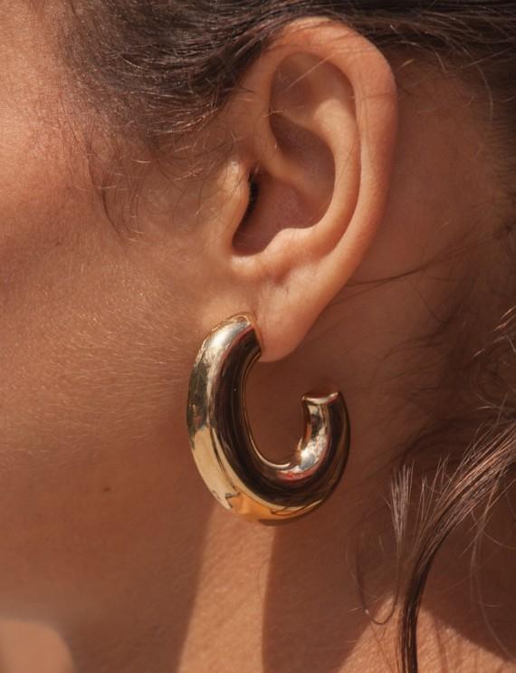 Boucles d'oreilles Flo