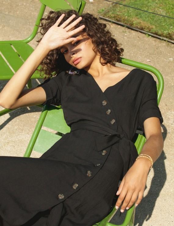 Robe noir Clarisse