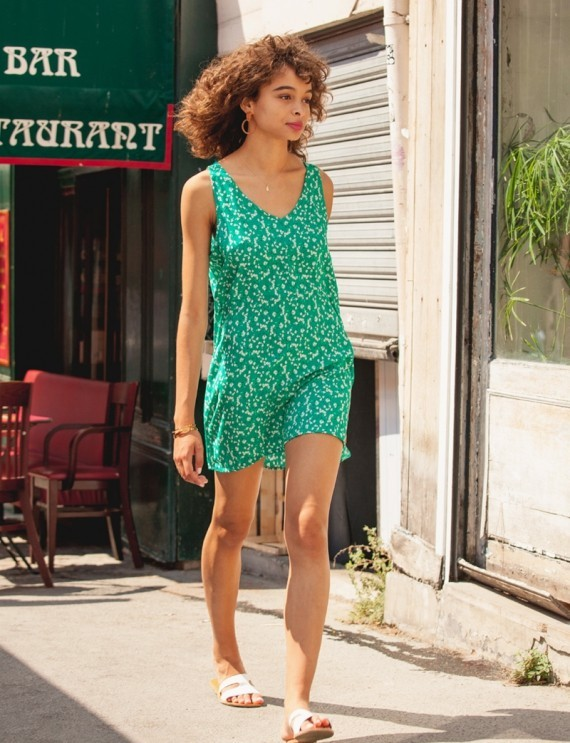 Lily green dress