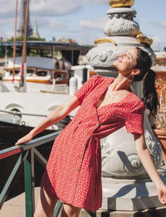Robe rouge Rita