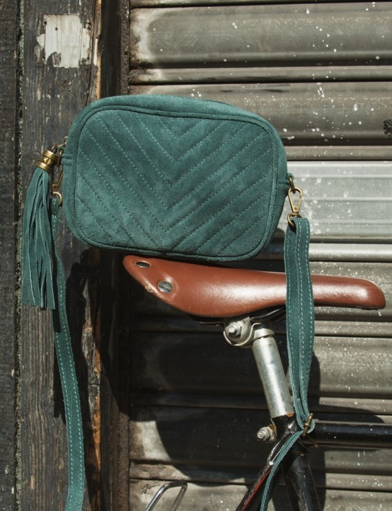 Gabin forest green bag