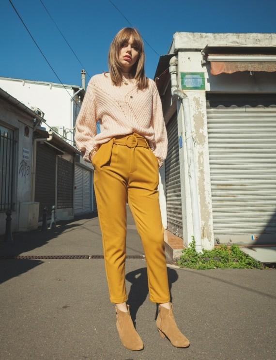 Pantalon ocre Lyre
