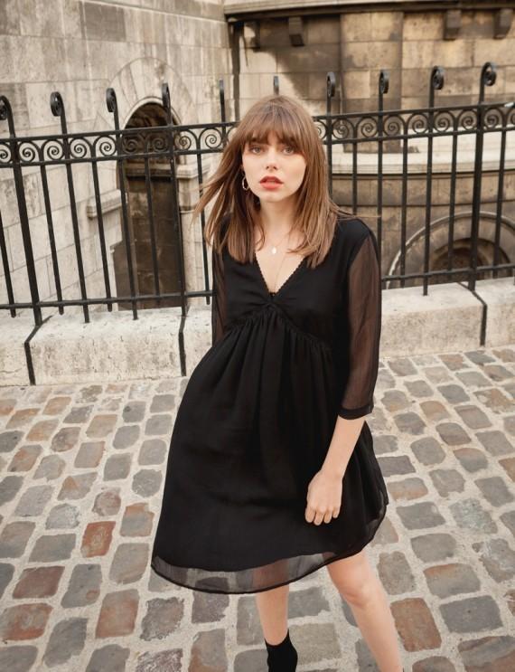 Jeannette black dress
