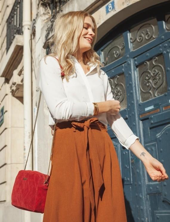 Victoria brown skirt