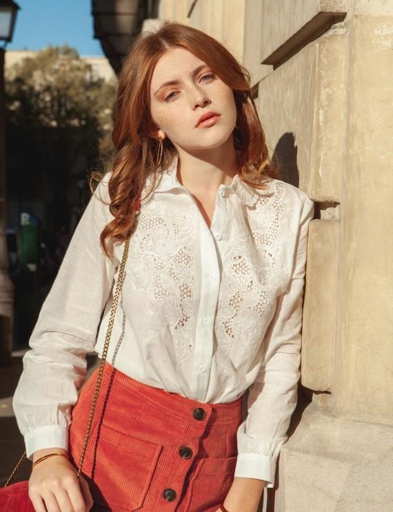 Chemise blanche Zélie