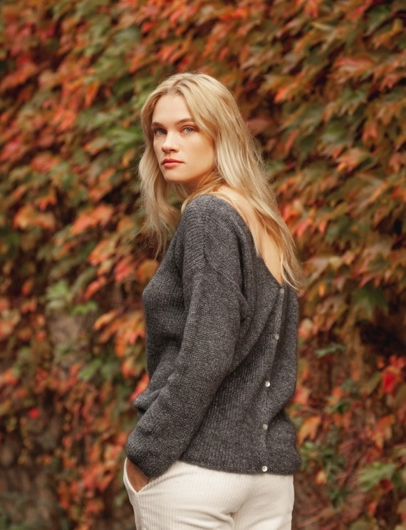Simon grey sweater