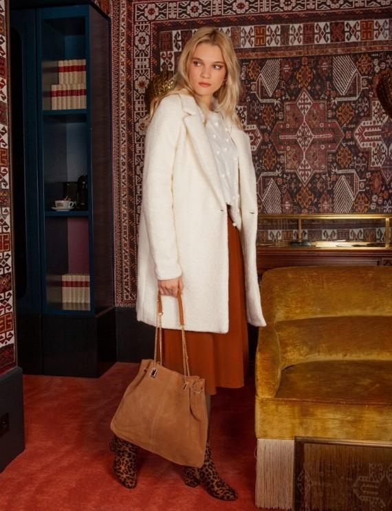 Manteau blanc Emile
