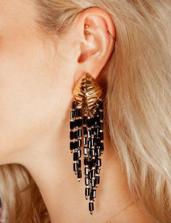 Boucles d'oreilles dorées Prim