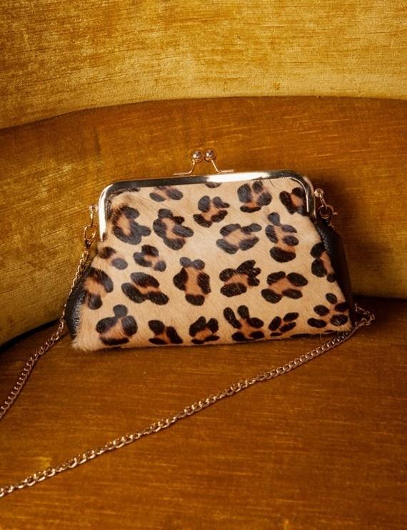 Sac léopard Basile