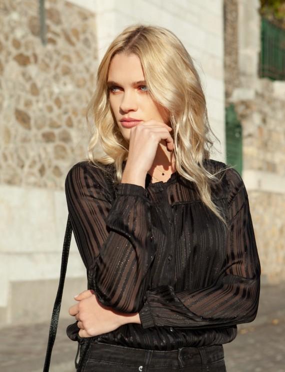 Abigail black blouse