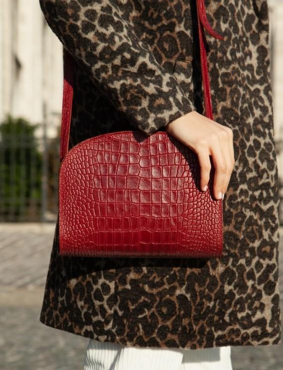 Jules burgundy bag