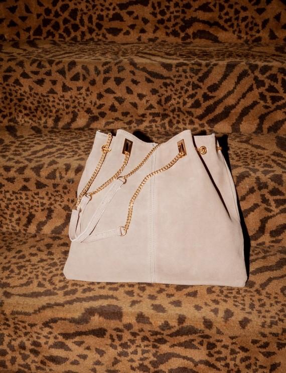 Gareth taupe bag