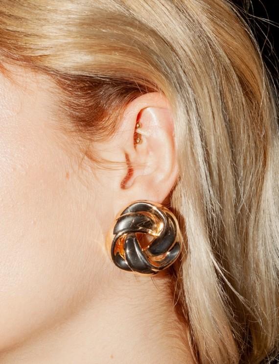 Boucles d'oreilles dorées Kim