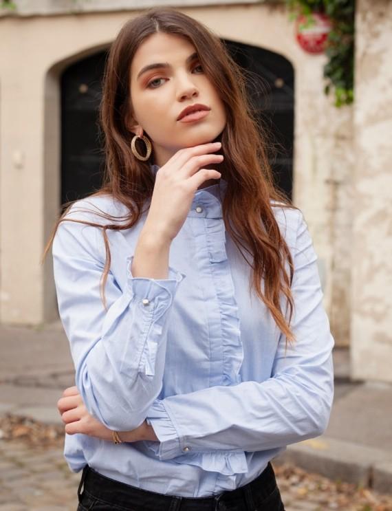 Chemise bleue Margaret