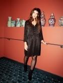 Robe noire Poesy