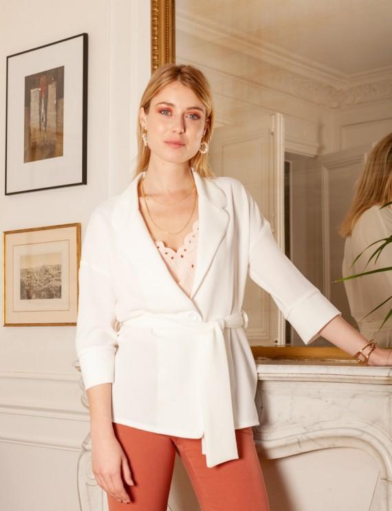 Veste blanche Adriana