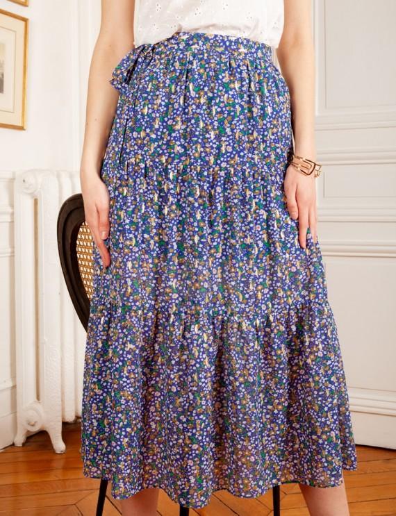 Vanina blue skirt