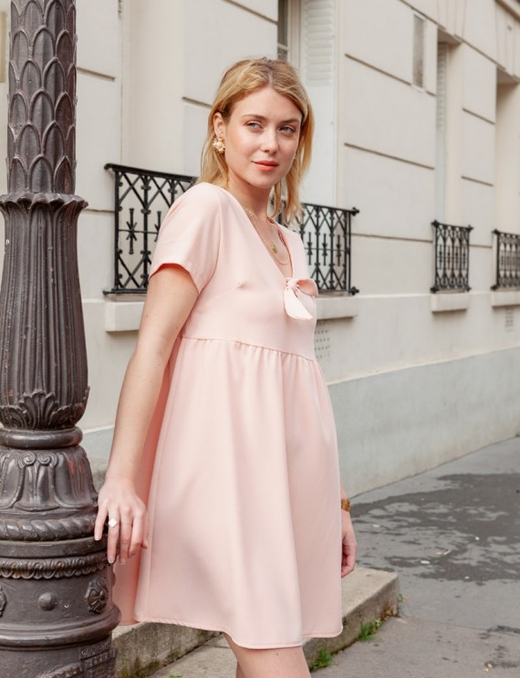 Joe pink dress