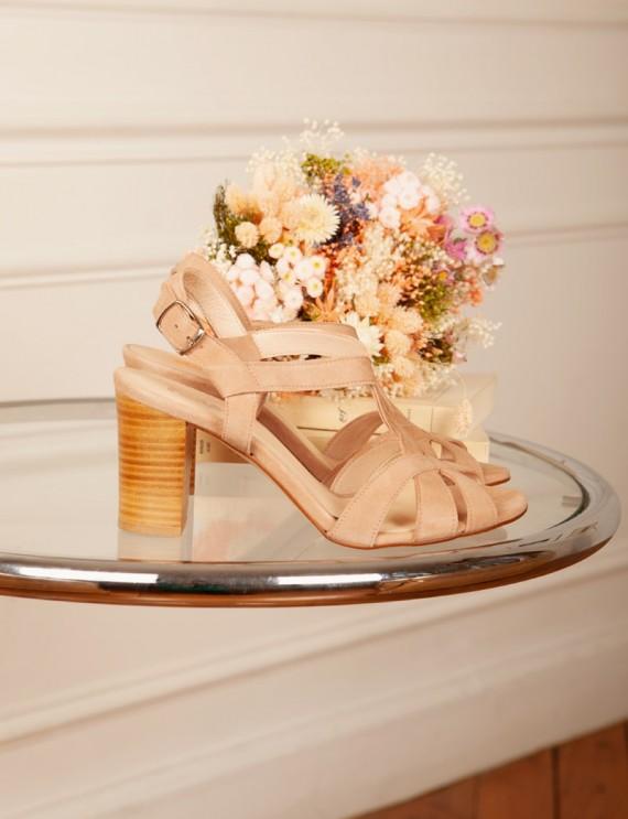 Rina nude sandals