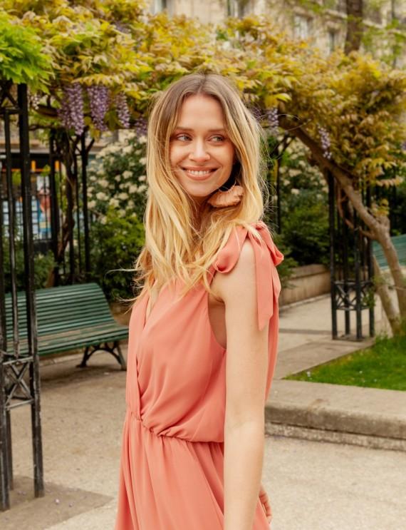 Olympia blush dress