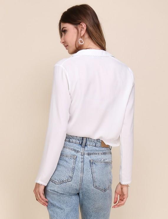 Dos chemise blanche Ernestine