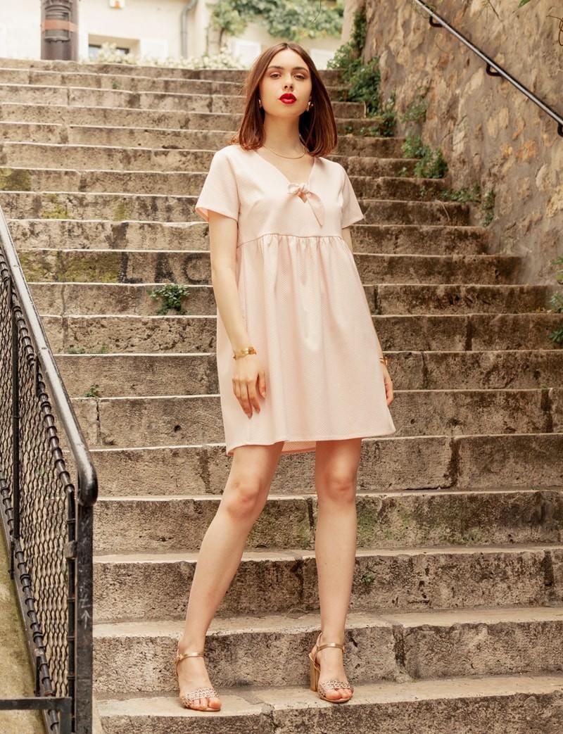 Robe rose Joella