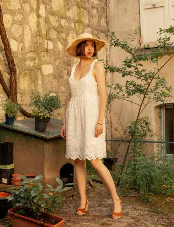 Robe blanche Ociana