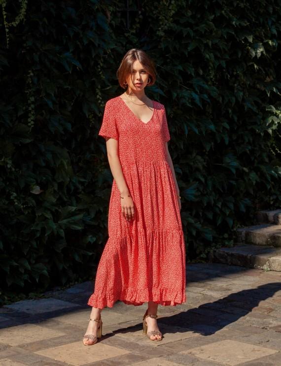 Robe rouge India