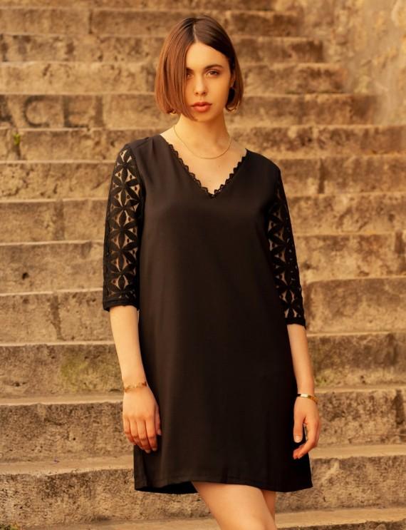 Robe noire Elicia