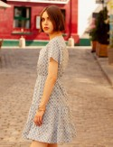 Robe courte bleue GIna
