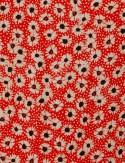 Robe motif fleuri India