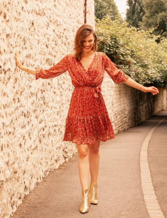 Robe rouge Hanna