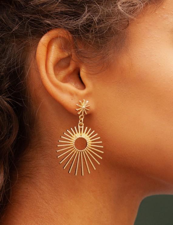 Boucles d'oreilles Solena