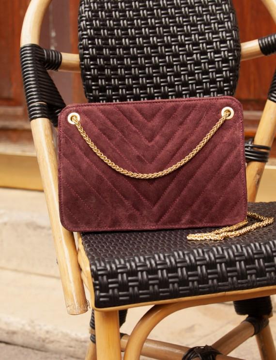 Léon burgundy bag